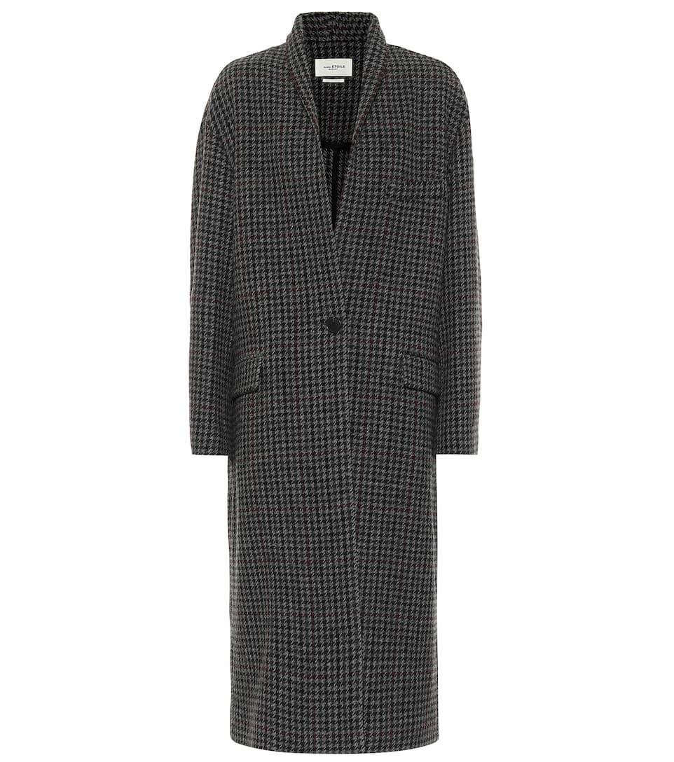 ISABEL MARAN, ÉTOILE, Henol houndstooth wool coat, от 1015лв на 711лв