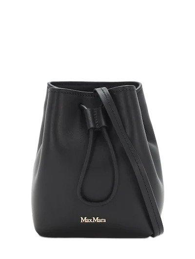 MAX MARA, Leather bucket bag, от 830лв на 580лв