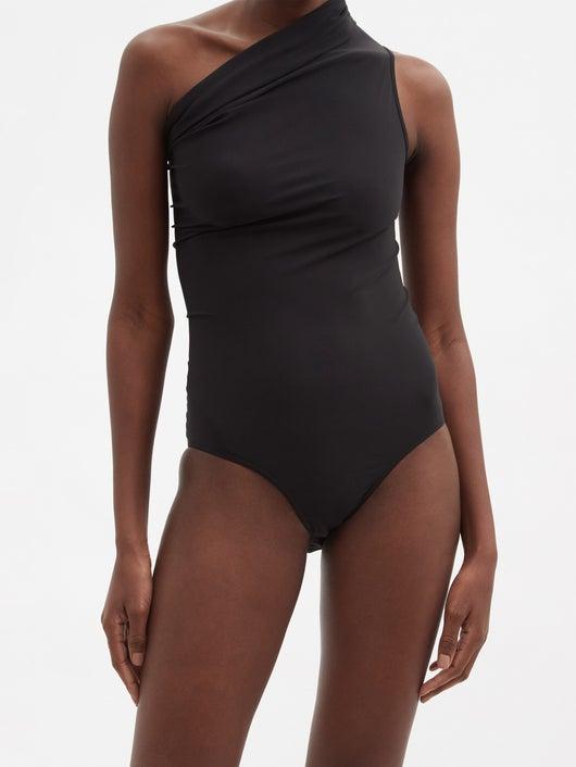 RICK OWENS One-shoulder swimsuit 776лв