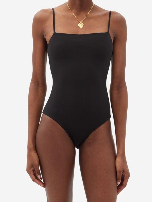 JIL SANDER Square-neck Swimsuit 537лв