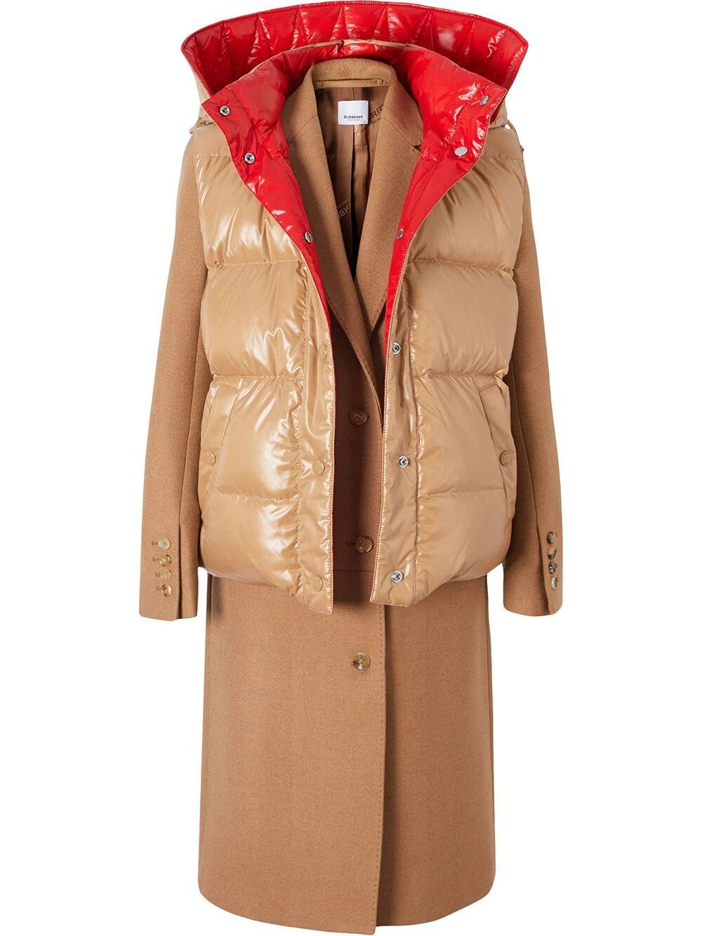 Burberry, Рaneled coat 11575лв, 5786лв