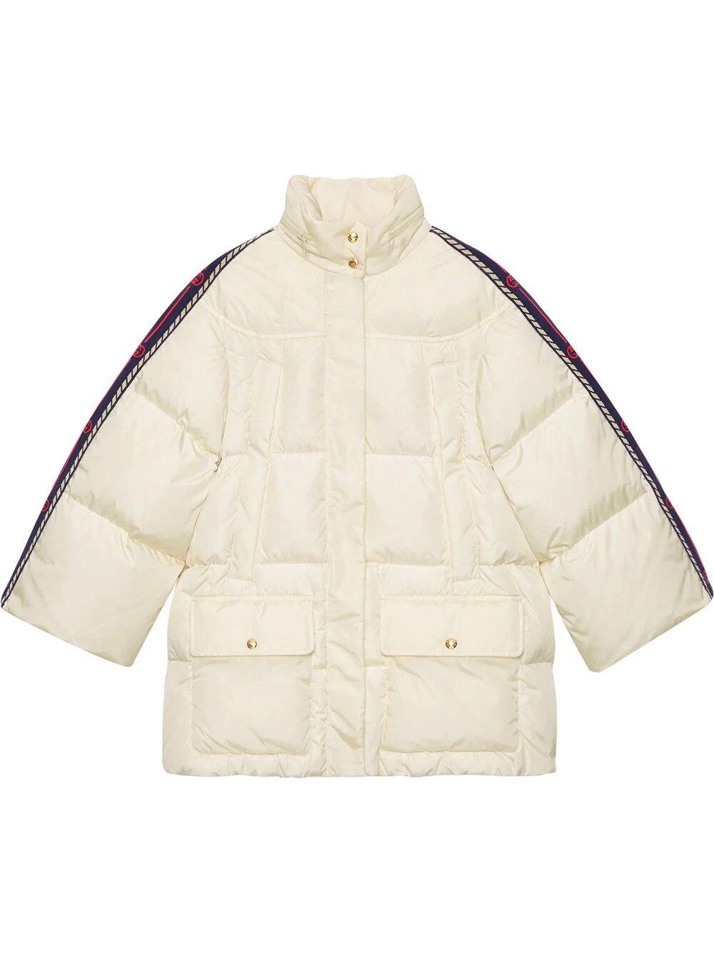 Gucci, Web-panelled padded jacket 3842лв