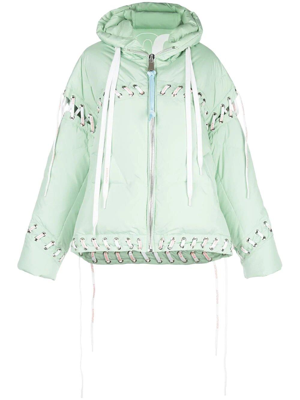 Khrisjoy, Сontrast lace-up puffer jacket 4953лв
