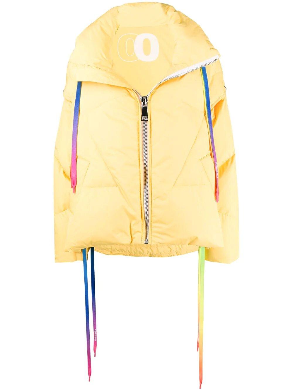 Khrisjoy, Rainbow drawstrings puffer jacket 3001лв,2432лв