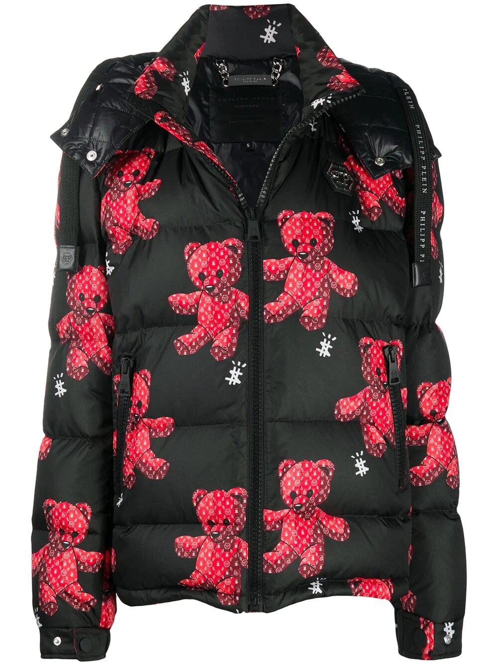 Philipp Plein, Тeddy bear print puffer jacket 4802лв, 2446лв