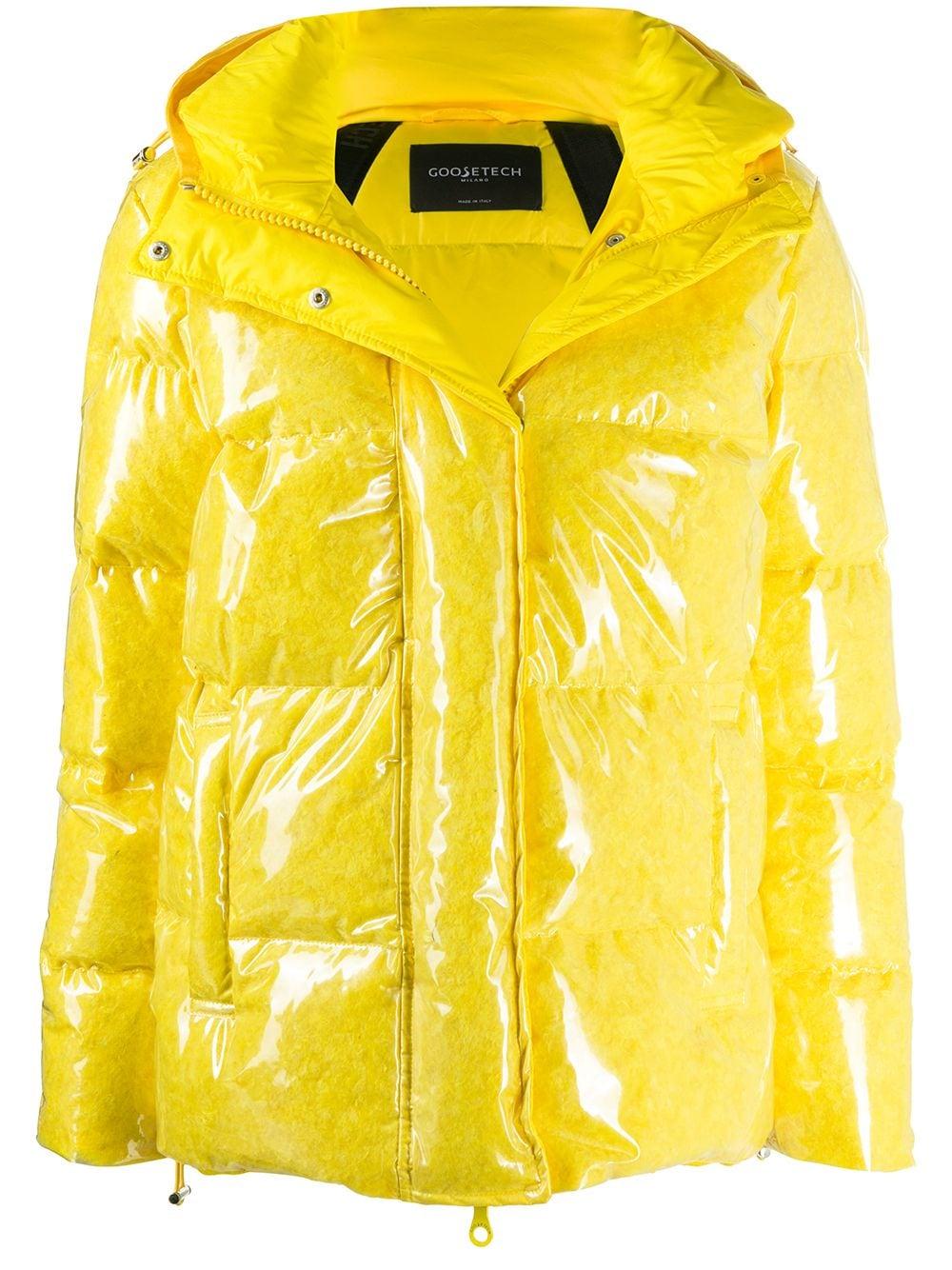 Goose Tech, Wet-look padded jacket 2570лв, 2056лв