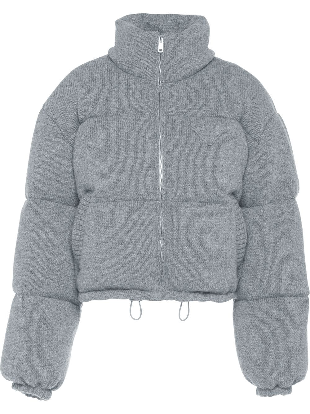 Prada, Wool and cashmere puffer jacket 