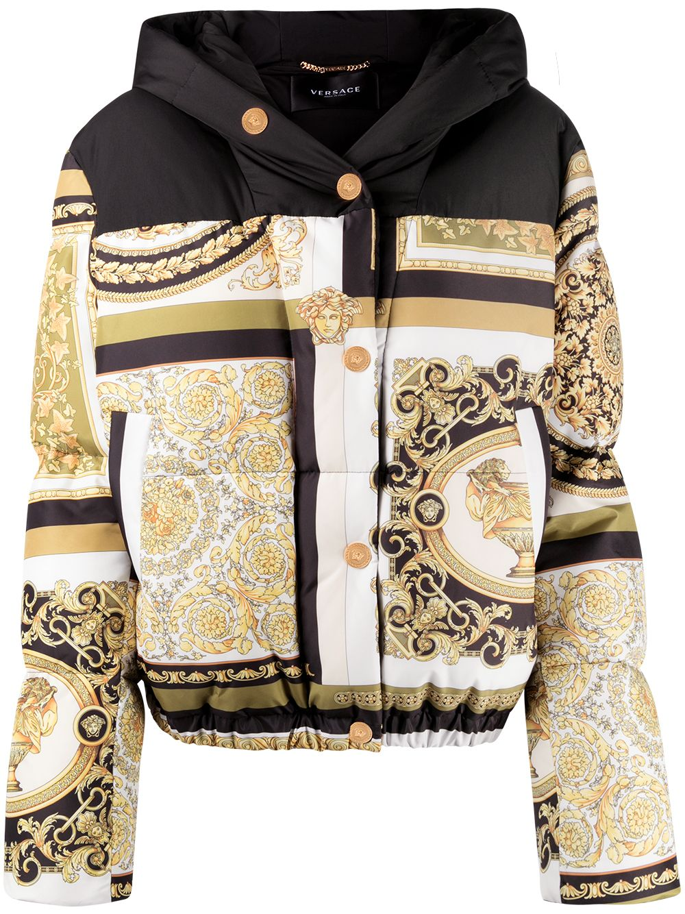 Versace, Printed puffer jacket 3797лв