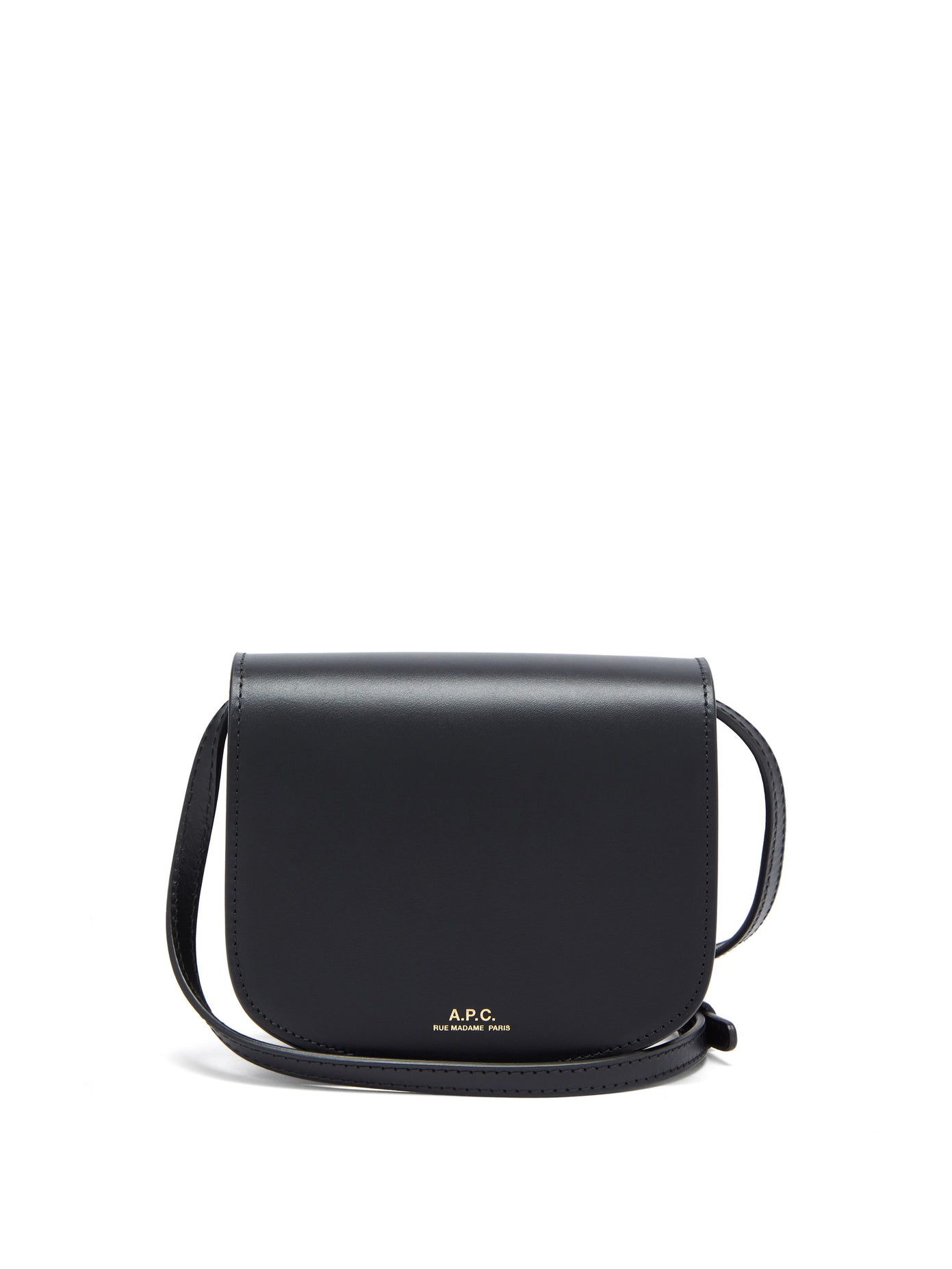 A.P.C., Dina mini smooth-leather cross-body bag, 490лв