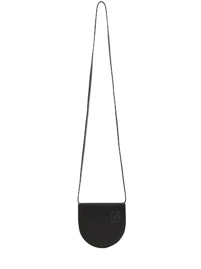 LOEWE, small heel leather shoulder bag, 742лв