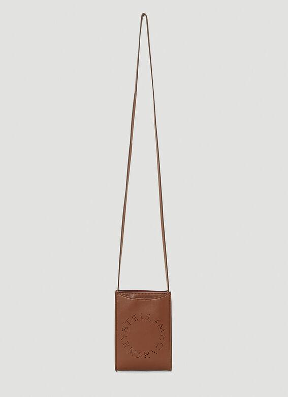 STELLA MCCARTNEY, Pouch Shoulder Bag in Brown, 490лв