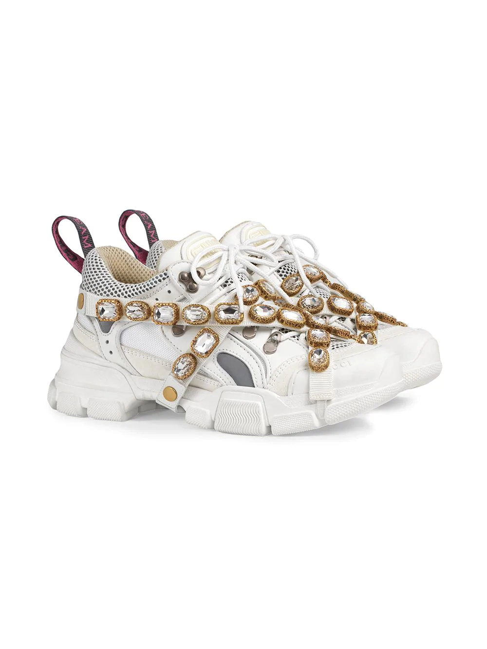 GUCCI Flashtrek sneakers with removable crystals, 2347лв.