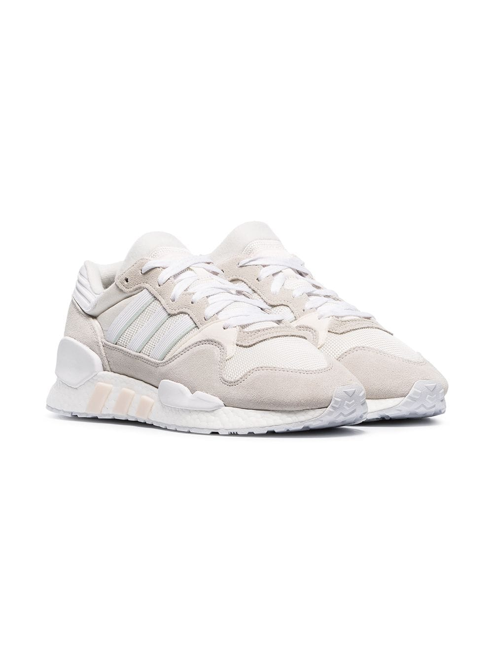 ADIDAS white never made ZX930 EQT sneakers, 340лв.