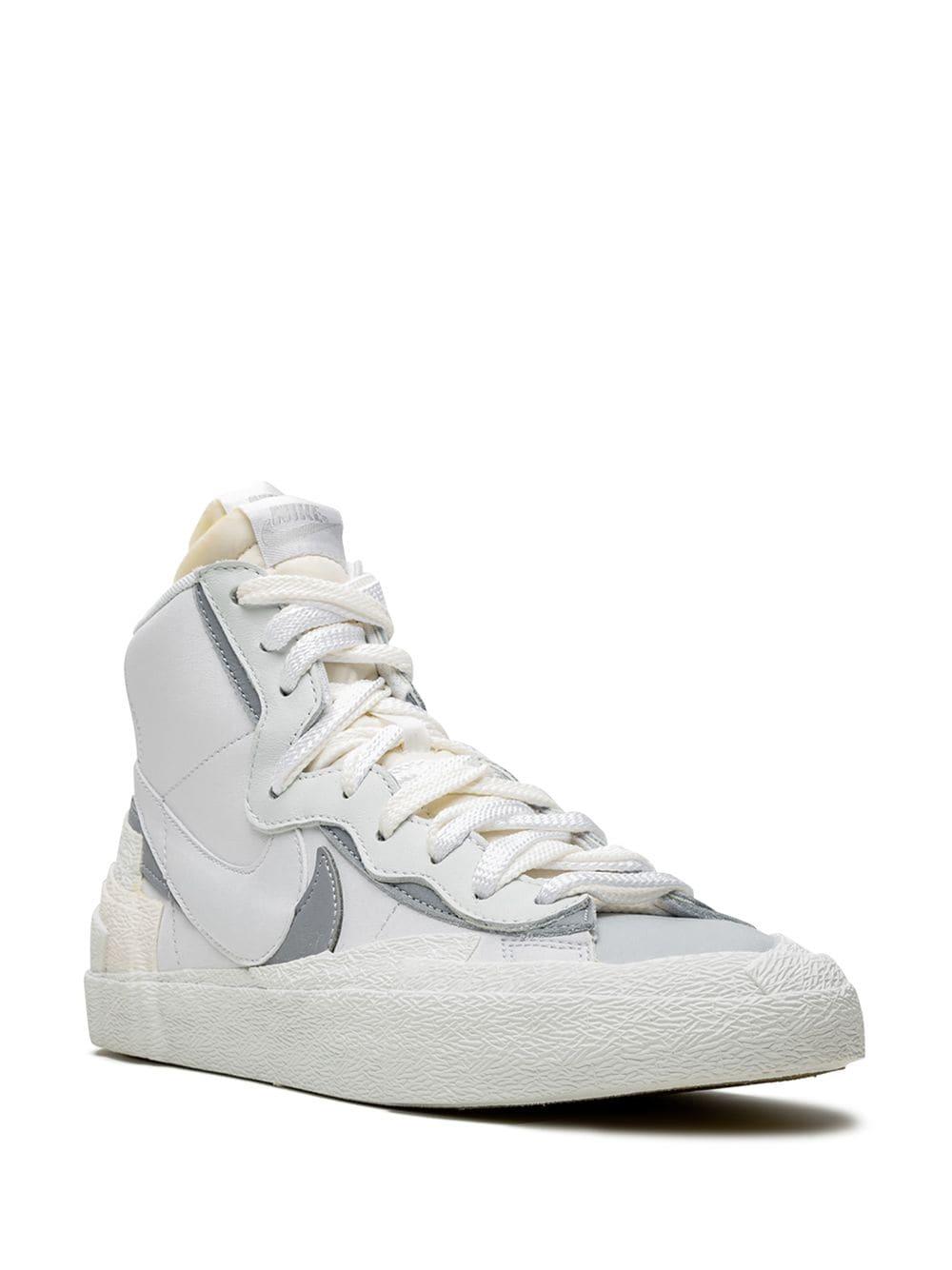 NIKE x Sacai Blazer Mid high-top sneakers, 573лв.