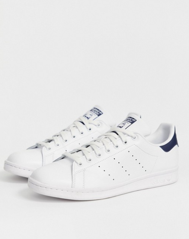 adidas Originals Stan Smith leather sneakers in white, 137лв.