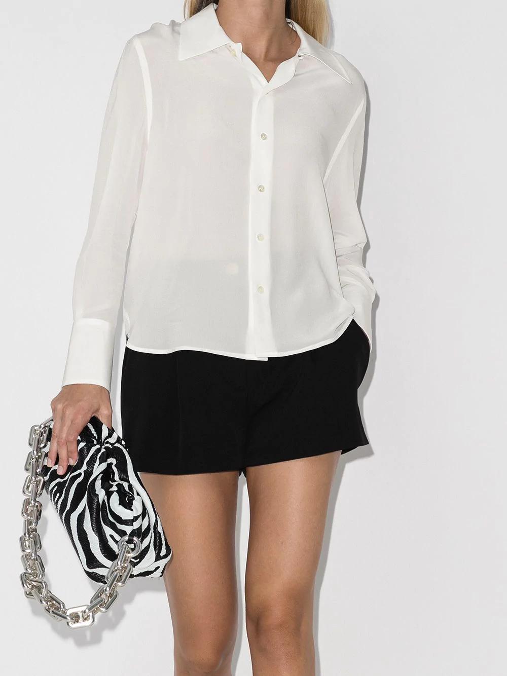 Saint Laurent Silk Shirt 1377лв