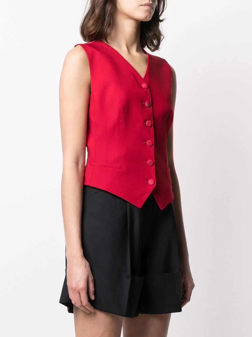 Dolce & Gabbana Fitted Silk Waistcoat 815лв