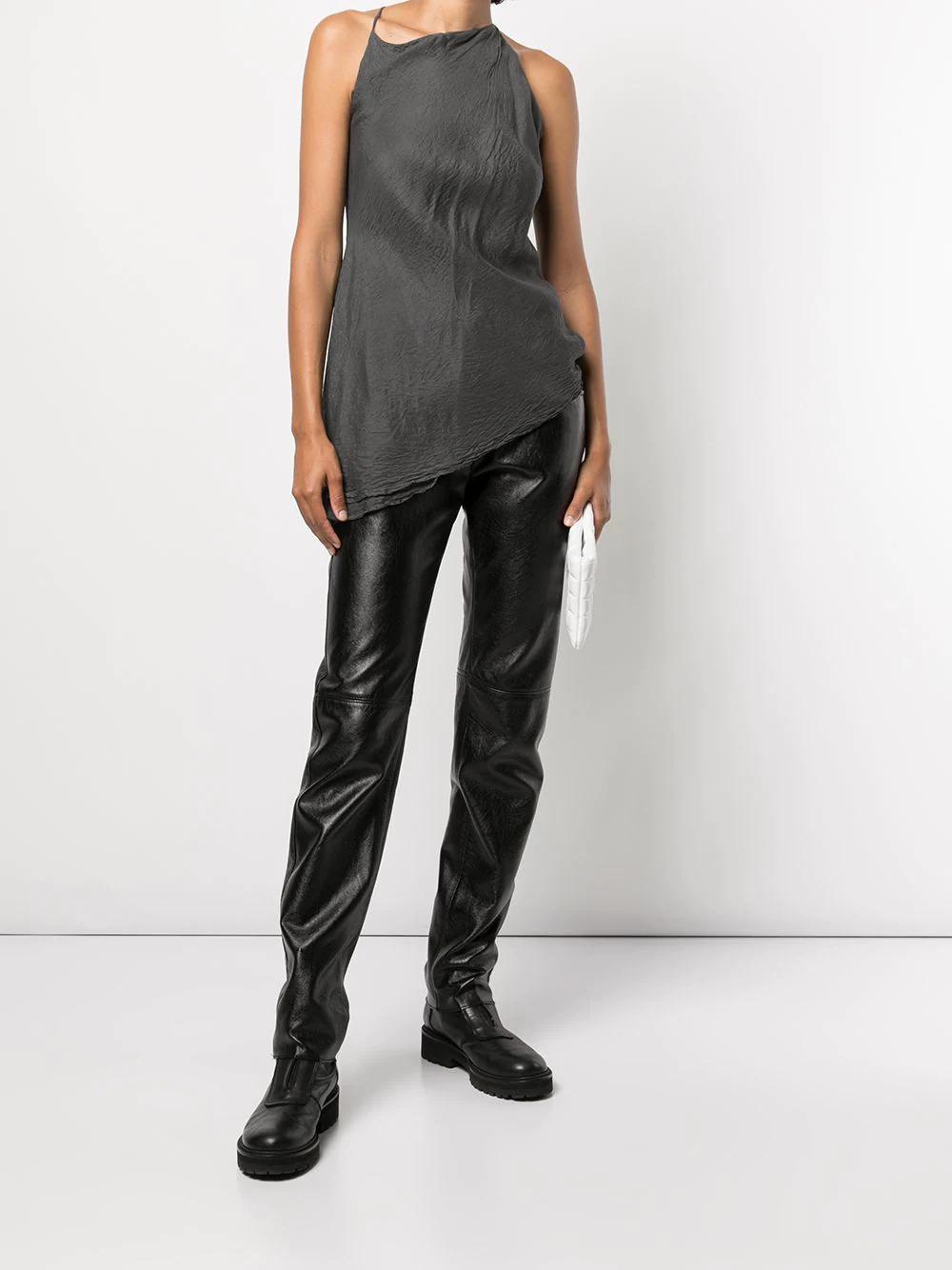 Marc Le Bihan Asymmetric Silk Top 1134лв