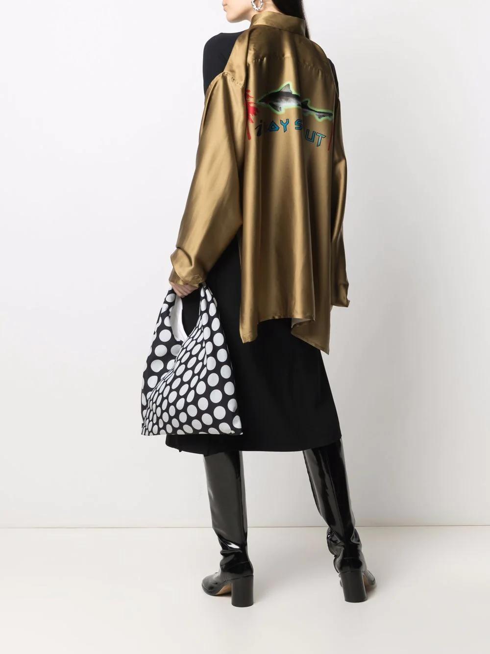 Barbara Bologna Deconstructed Silk Shirt 1009лв