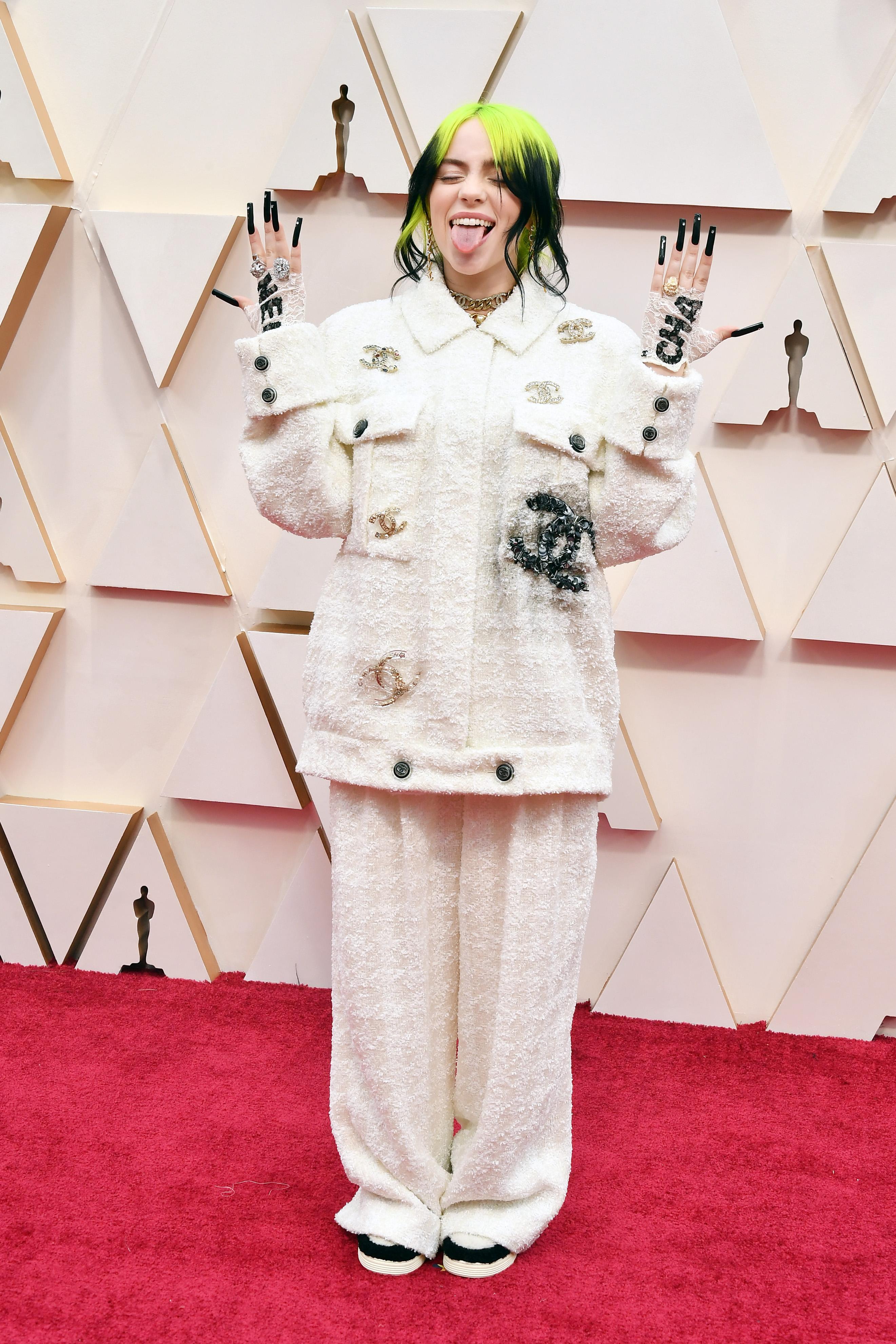Oscars 2020 И в Chanel я обожаваме.