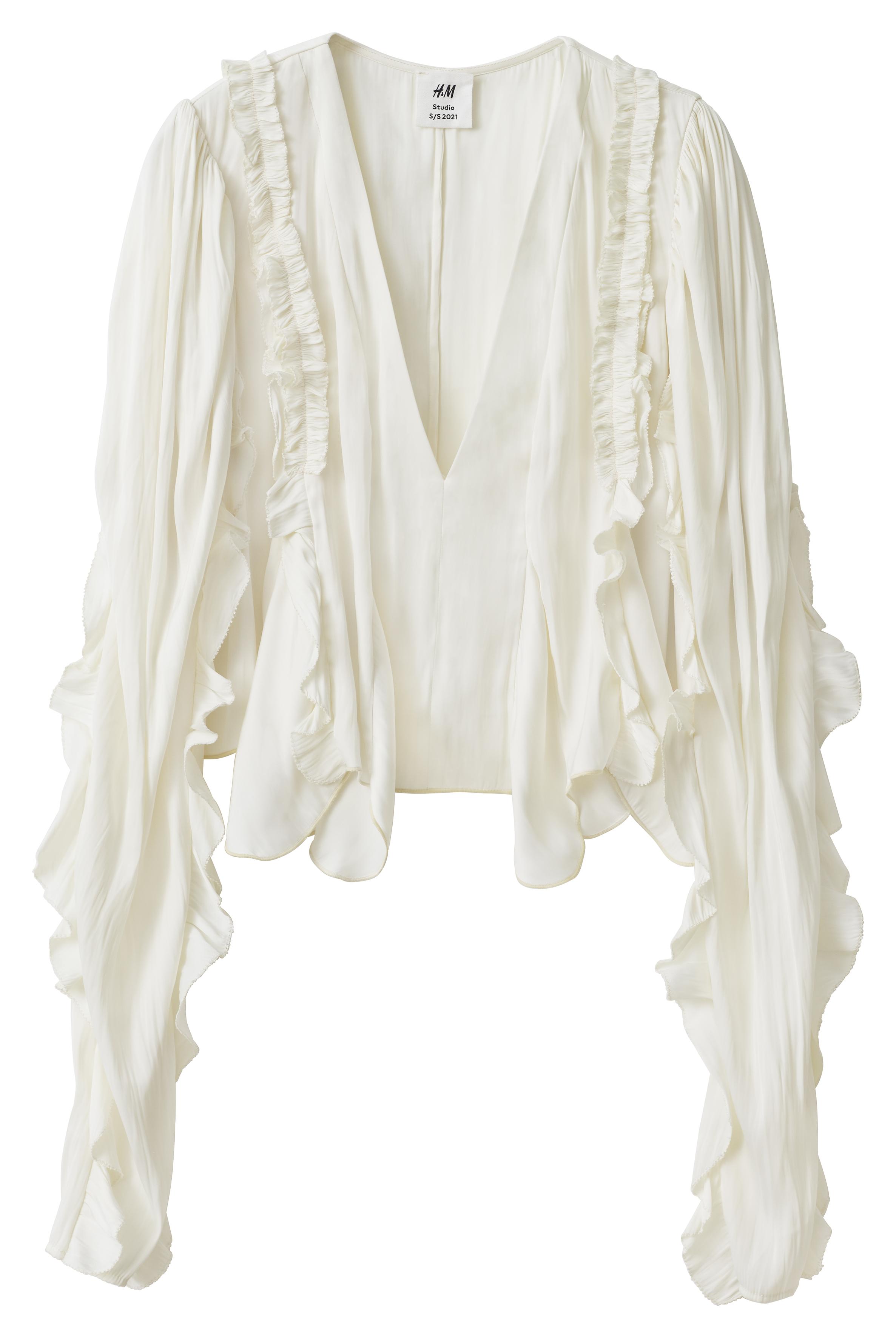 Блуза с къдрици 134лв