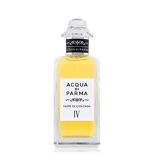 Aqua di Parma Note di Colonia IV Eau de Cologne 784 лв. Усещането след допир до Aqua di Parma Note di Colonia IV е сякаш сме прекарали време в необяснимо красива градина с лимонови дръвчета. Гарантираната формула за добро настроение съдържа розово пипер, лимон и бергамот.