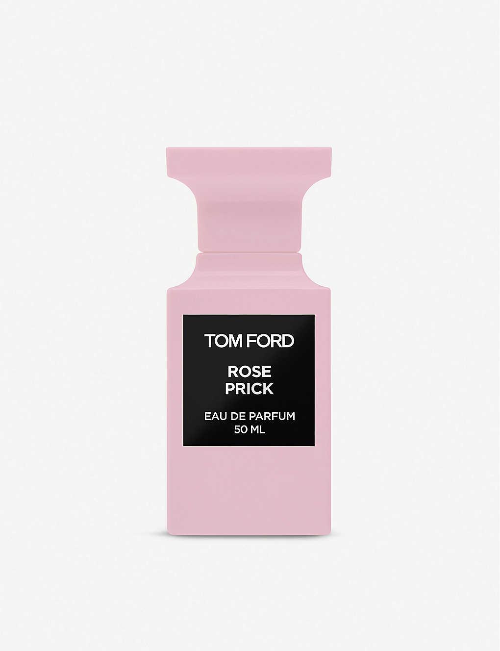 TOM FORD Rose Prick eau de parfum 488 лв. Един от винаги актуалните аромати е подсилен още и от невероятно стилна опаковка . Розата във формулата не е само една - тя представлява микс от различни сортове по света, за да достави неповторим аромат и усещане за свобода и радост.
