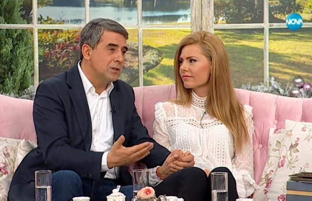 Плевнелиев и Деси Банова: Не искаме да крием любовта си!